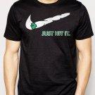 Best Buy Just Hit It Blunt Weed 420 Kush Men Adult T-Shirt Sz S-2XL