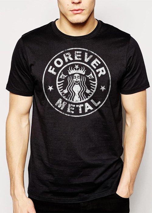 Best Buy Forever Metal Heavy Metal The Big 4 Men Adult T-Shirt Sz S-2XL
