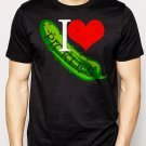Best Buy I LOVE PICKLES college funny fried dill sweet bread & butter Men Adult T-Shirt Sz S-2XL