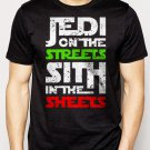Best Buy Jedi In The Streets Sith In The Sheets Movie Funny Men Adult T-Shirt Sz S-2XL