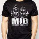 Best Buy Minions In Black Men Adult T-Shirt Sz S-2XL