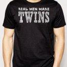 Best Buy Real Men Make Twins Funny Dad Men Adult T-Shirt Sz S-2XL
