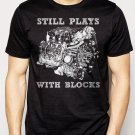 Best Buy STILL PLAYS WITH BLOCK  CHEVY CAR TRUCK CLASSIC Men Adult T-Shirt Sz S-2XL