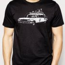 Best Buy Ecto 1 ghostbusters, hearse, 80s Men Adult T-Shirt Sz S-2XL