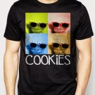 Best Buy Sesame Street Cookie Monster Glasses Men Adult T-Shirt Sz S-2XL