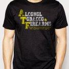 Best Buy ALCOHOL, TOBACCO, & FIREARMS Men Adult T-Shirt Sz S-2XL