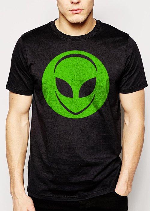 Best Buy Alien Head UFO Aliens Geek Men Adult T-Shirt Sz S-2XL