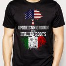 Best Buy American Grown with Italian Roots Men Adult T-Shirt Sz S-2XL
