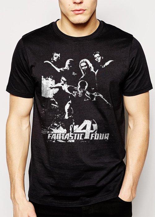 Best Buy Fantastic Four Rise of The Silver Surfer Men Adult T-Shirt Sz S-2XL