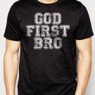 Best Buy God First Bro Men Adult T-Shirt Sz S-2XL