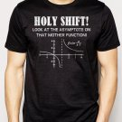 Best Buy Holy Shift Asymptote Calculus Math Geek Men Adult T-Shirt Sz S-2XL