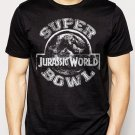 Best Buy Jurassic World Superbowl Men Adult T-Shirt Sz S-2XL