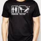 Best Buy Problem Solved Funny Couple Men Adult T-Shirt Sz S-2XL