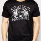 Best Buy This Boy Loves Christmas Men Adult T-Shirt Sz S-2XL