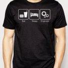 Best Buy Eat Sleep Engineer Engineering Career Occupation Men Adult T-Shirt Sz S-2XL
