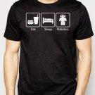 Best Buy Eat Sleep Robotics Nerd Geek Men Adult T-Shirt Sz S-2XL