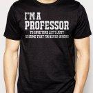 Best Buy Professor University Funny Gift Men Adult T-Shirt Sz S-2XL
