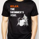 Best Buy Relax The Drummer's Here Men Adult T-Shirt Sz S-2XL