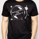 Best Buy Weapon Of Choice DJ Turntable Club Men Adult T-Shirt Sz S-2XL