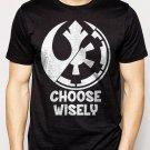 Best Buy Choose Wisely Rebel Alliance Imperial Forces Men Adult T-Shirt Sz S-2XL