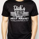 Best Buy DICK'S MEAT MARKET Funny Humor Rude Not Eating Meat Men Adult T-Shirt Sz S-2XL