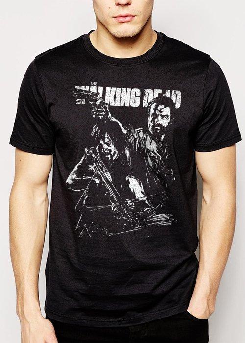 Best Buy The Walking Dead Grimes Dixon Men Adult T-Shirt Sz S-2XL