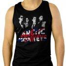 Arctic Monkeys Indie Rock Band AM Alex Turner Humbug Soundwave Men Black Tank Top Sleeveless