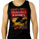 Detective Comics Men Black Tank Top Sleeveless