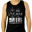 Minions In Black Men Black Tank Top Sleeveless
