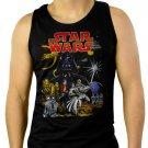 Star Wars Full Force Men Black Tank Top Sleeveless