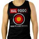 2001 Space Odyssey HAL 9000 Men Black Tank Top Sleeveless