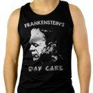Frankenstein's Day Care Men Black Tank Top Sleeveless