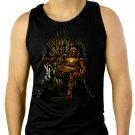 Game of Thrones Iron Man Iron Throne Men Black Tank Top Sleeveless