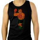 Mike Tysons Punchout Tyson 8 Bit Boxing Men Black Tank Top Sleeveless