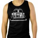 MINI Cooper rally old vintage personalised Men Black Tank Top Sleeveless