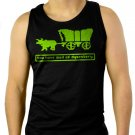Oregon Trail You Have Died of Dysentery Men Black Tank Top Sleeveless