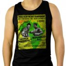 RUMBLE IN THE JUNGLE BOXING LEGEND Men Black Tank Top Sleeveless