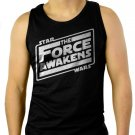 Star Wars Awakens Men Black Tank Top Sleeveless