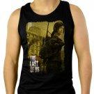 The Last Of Us Ellie Men Black Tank Top Sleeveless