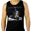 VESPA LAMBRETTA ARTWORK SCOOTER SKA MOD Men Black Tank Top Sleeveless