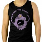 What The Lump Lumpy Space Princess Adventure Time Men Black Tank Top Sleeveless