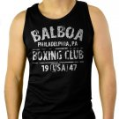BALBOA BOXING CLUB ROCKY Men Black Tank Top Sleeveless