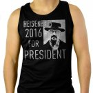Breaking Bad Heisenberg For President 2016 Men Black Tank Top Sleeveless