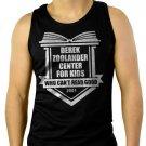 Derek Zoolander Center For Kids Who Can't Read Good Mens  Men Black Tank Top Sleeveless
