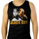 Fantastic Four Black Guy Men Black Tank Top Sleeveless