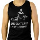 Faster Dwayne the rock Johnson Movie Men Black Tank Top Sleeveless