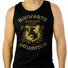Hufflepuff Quidditch Funny Harry Hog Potter Warts Seeker House Men Black Tank Top Sleeveless