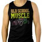Old School Muscle Truck Rat Classic Car Men Black Tank Top Sleeveless