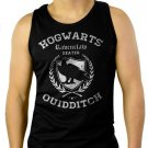 Ravenclaw Quidditch Funny Harry Hog Potter Warts Beater House  Men Black Tank Top Sleeveless