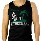 Revis Island Darrelle Revis New York Jets Cornerback Men Black Tank Top Sleeveless